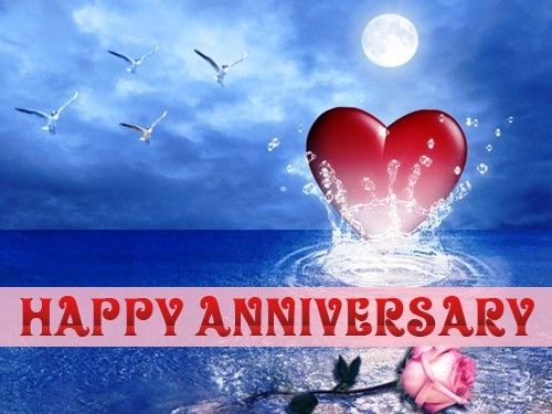 Happy anniversary love hearts pictures