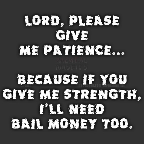 Patience Quotes Storemypic