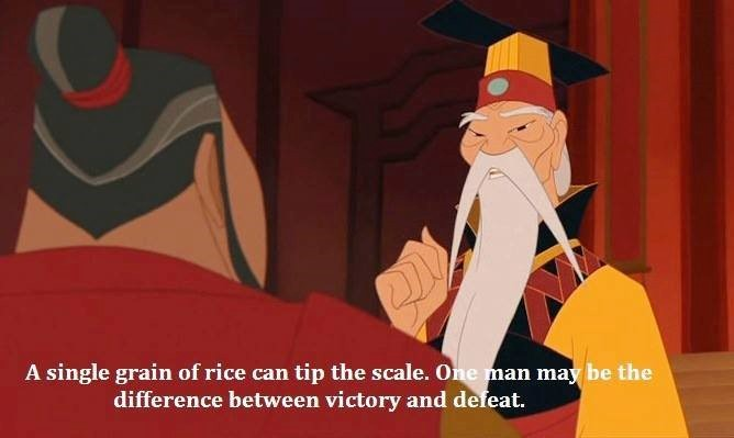A Single Grain Of Rice Can Tip The Scale One Man May Be Difference Between Victory