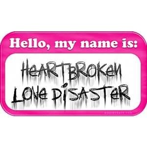 Broken heart love disaster