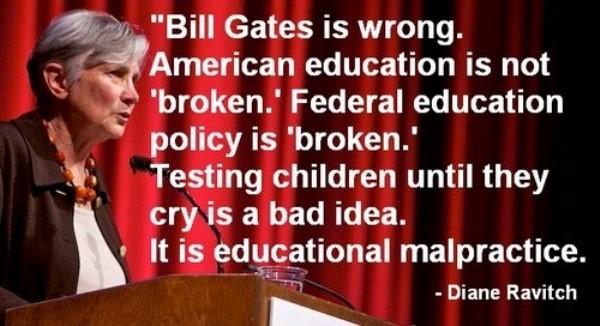 Bill gates is wrong american education is not broken