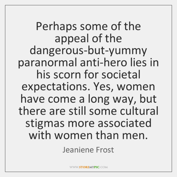 Perhaps some of the appeal of the dangerous-but-yummy paranormal anti-hero lies in ...