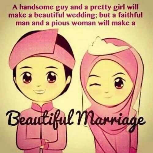 A handsome guy and a pretty girl will make a beautiful wedding but a faithful man an