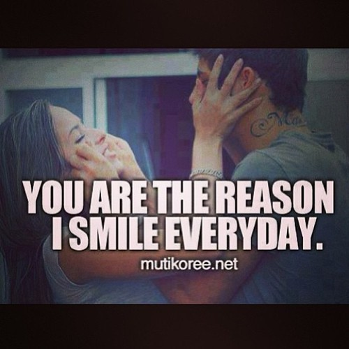 You Are The Reason I Smile Everyday Storemypic