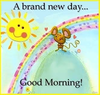 A brand new day good morning image