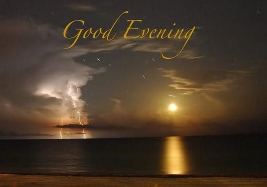 Beautiful good evening