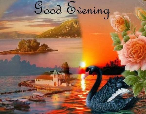 Beautiful scenary good evening