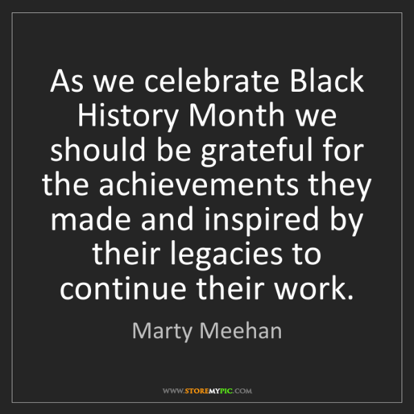 Marty Meehan: As we celebrate Black History Month we should be grateful...