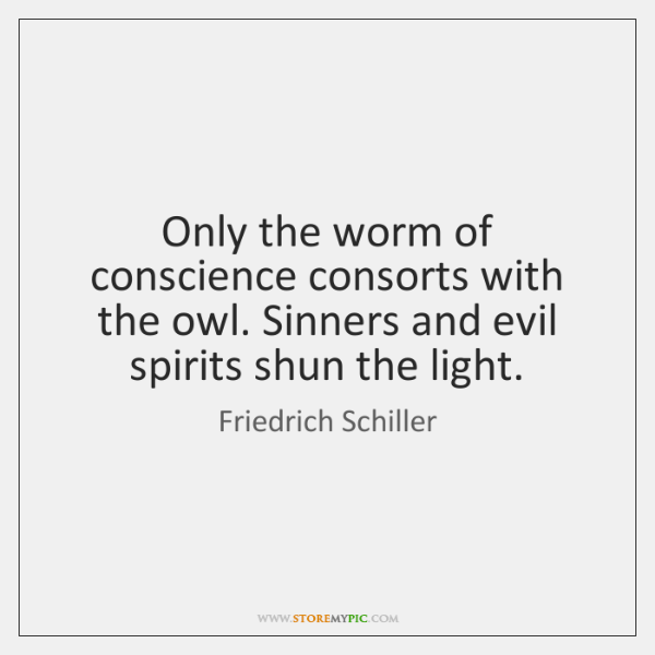 The Worm of Conscience
