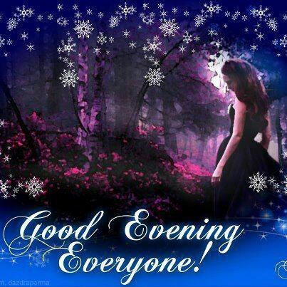 Good evening everyone girly