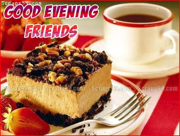 Good evening friends cake