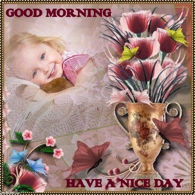 Good morning have a nice day 001