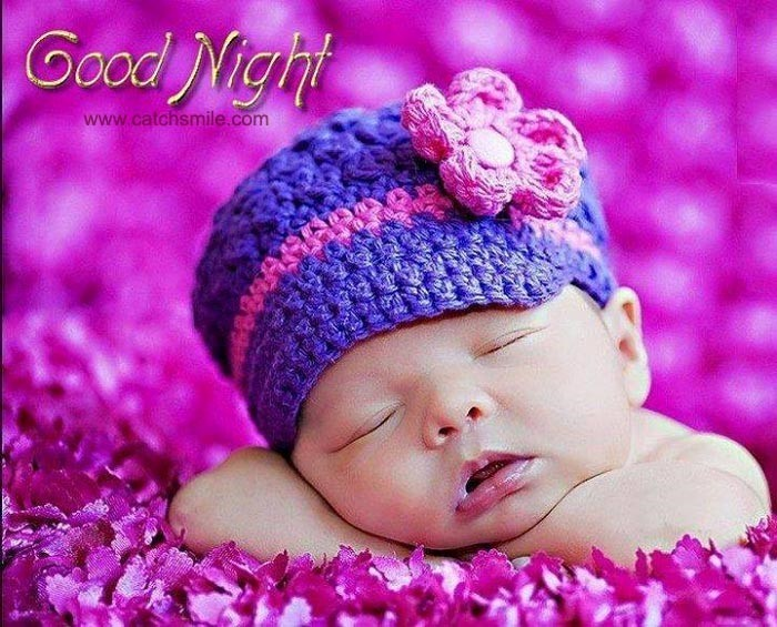 Good Night Cute Baby Sleeping Storemypic