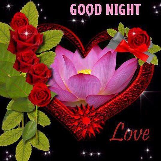 Good night love heart