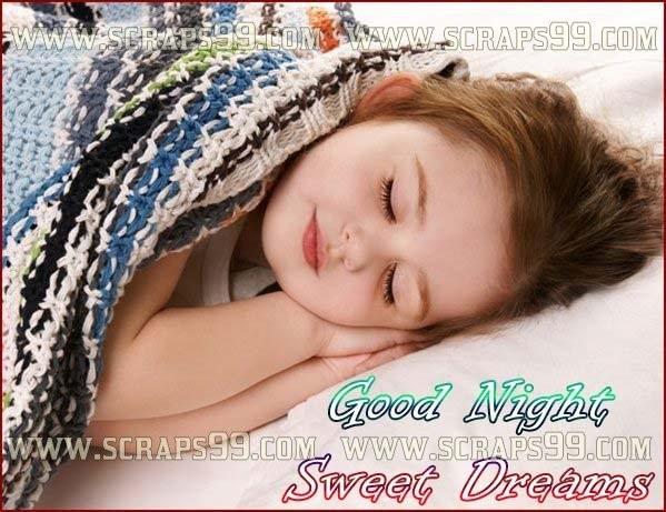 Good Night Sweet Dreams Cute Sleeping Girl Storemypic