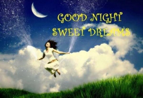 Good night sweet dreams greetings