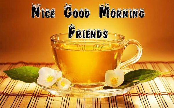 Nice good morning friends