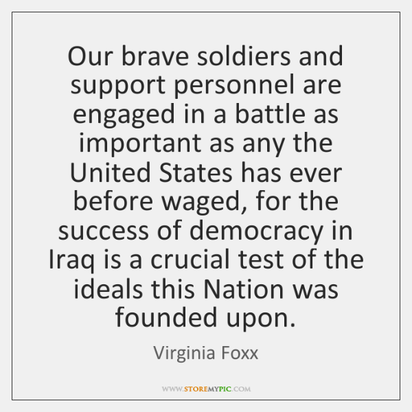 Our brave soldiers and support personnel are engaged in a battle as ...