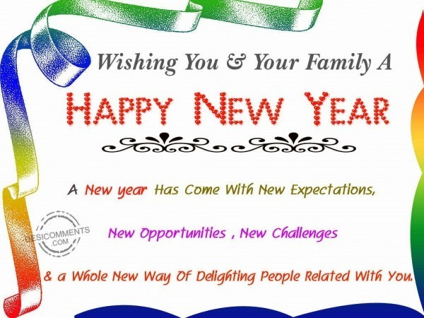 Happy New Year To You And Your Family 26