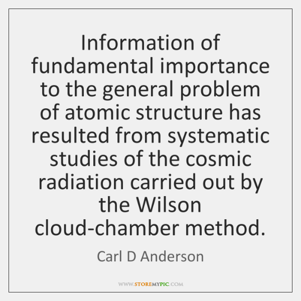Information of fundamental importance to the general problem of atomic structure has ...