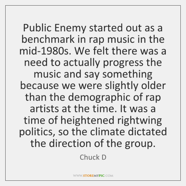 Public Enemy started out as a benchmark in rap music in the ...