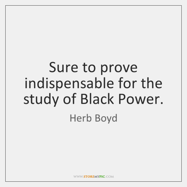 Sure to prove indispensable for the study of Black Power.