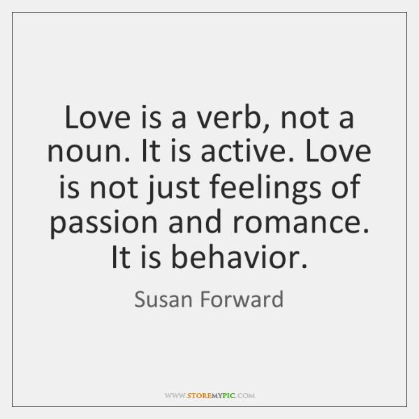is love a noun