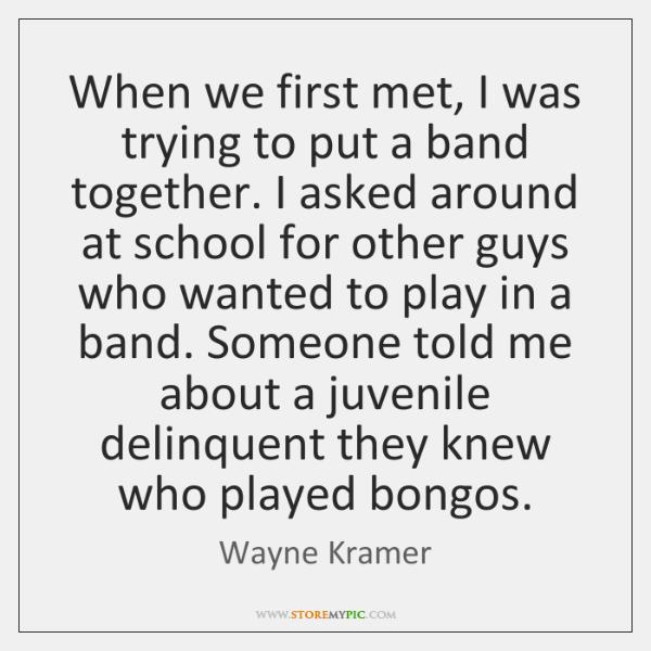 Wayne Kramer Quotes Storemypic