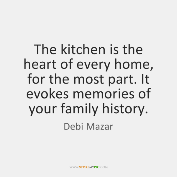 The kitchen is the heart of every home, for the most part. ...