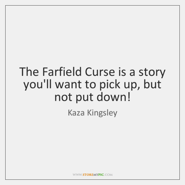 The Farfield Curse is a story you'll want to pick up, but ...