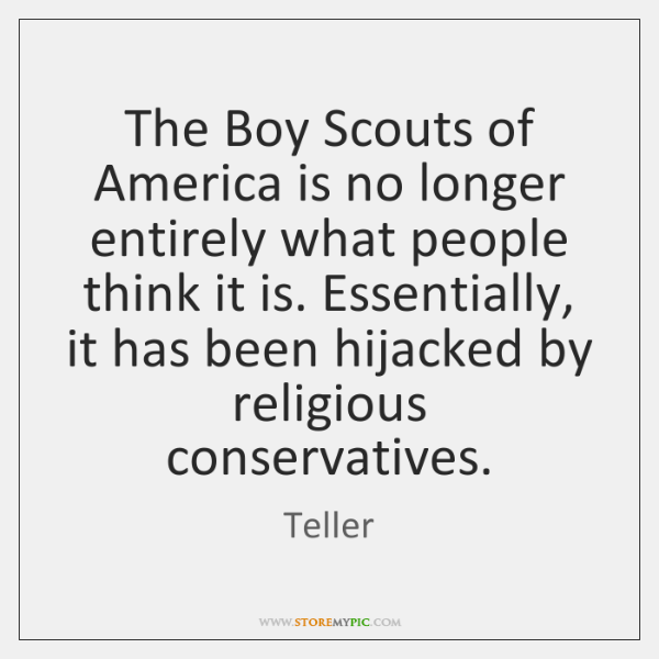The Boy Scouts of America is no longer entirely what people think ...