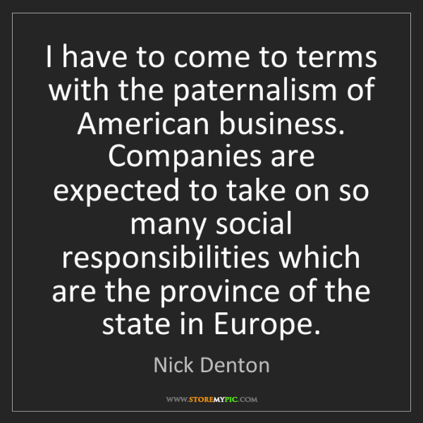 Nick Denton: I have to come to terms with the paternalism of American...