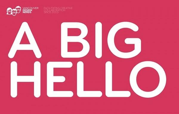 A big hello