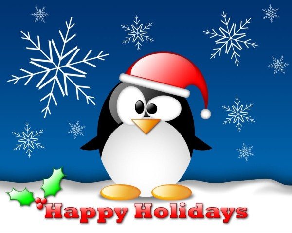 Angry birds wishes you happy holidays