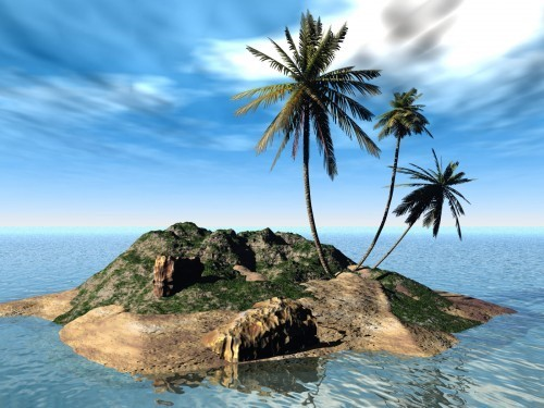 Beautiful nature beach