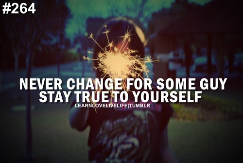 Never Change For Someone Guy Stay True To Yourself Storemypic