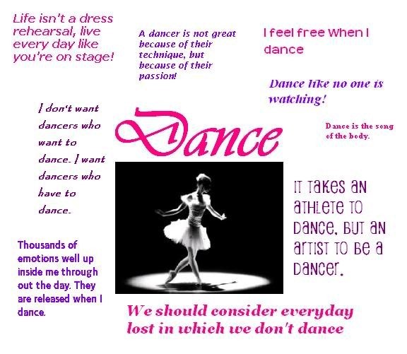 Dance Quotes Storemypic