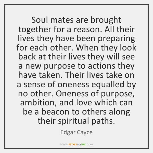 Edgar cayce soul mates