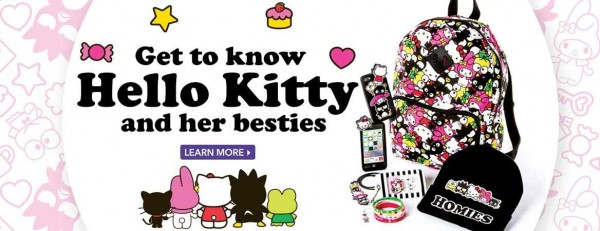 Get to know hello kitty and her besties