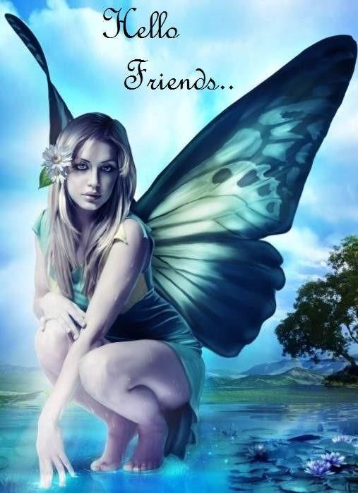 Hello friends fairy