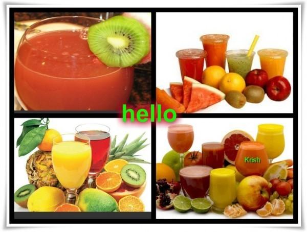 Hello fruits