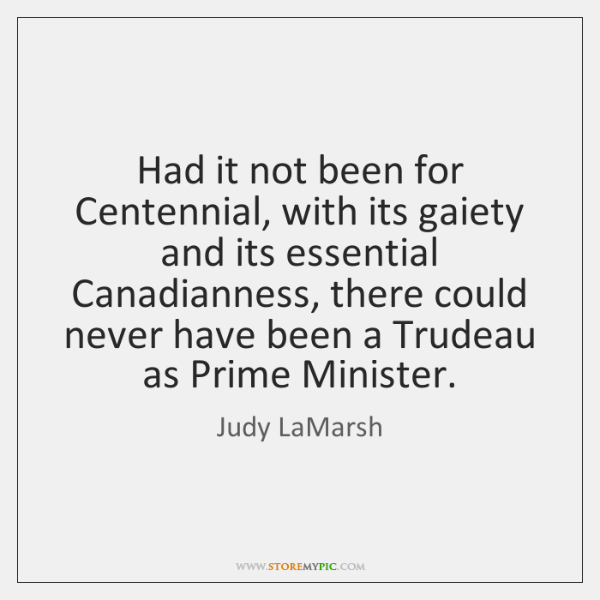 Had it not been for Centennial, with its gaiety and its essential ...