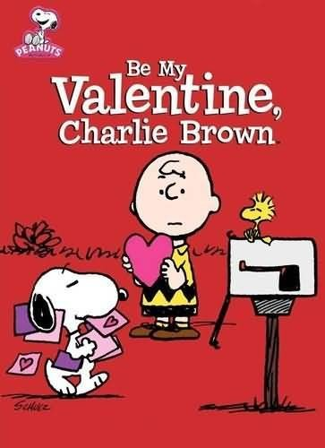 Be my valentine charlie brown animated