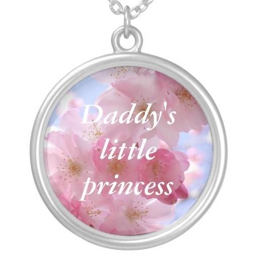 Daddys little princess key chain