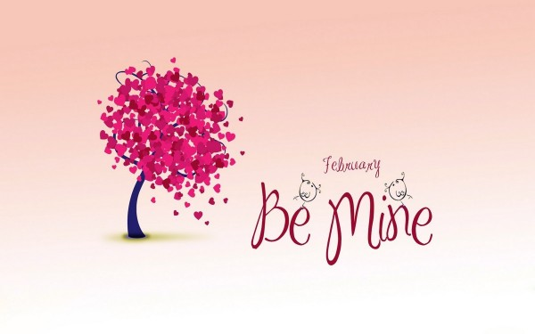 February be mine happy valentines day