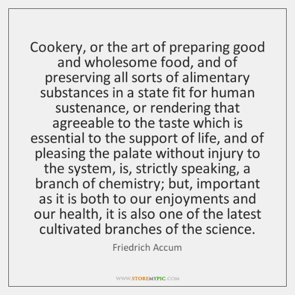Cookery, or the art of preparing good and wholesome food, and of ...