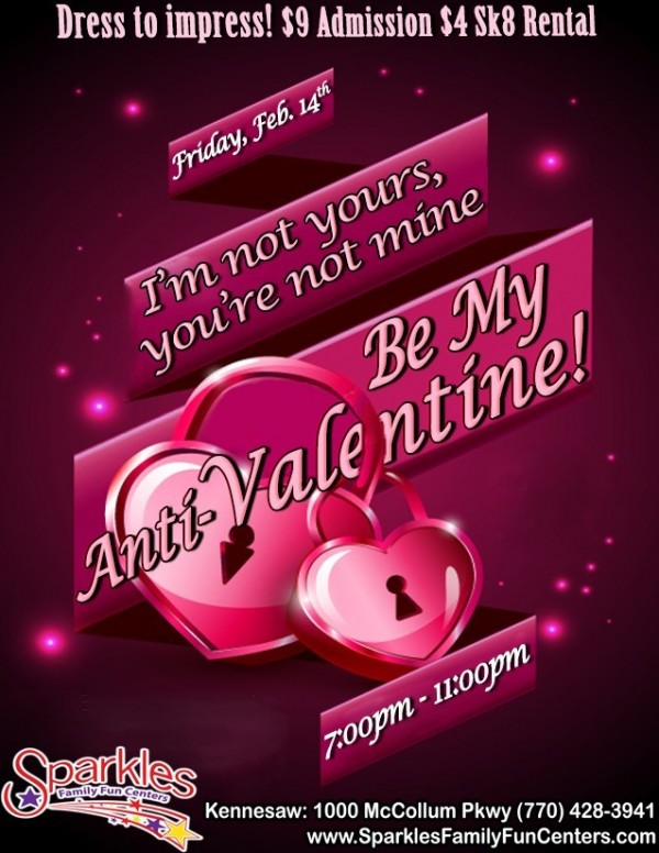 Im not yours youre not mine be my anti valentine