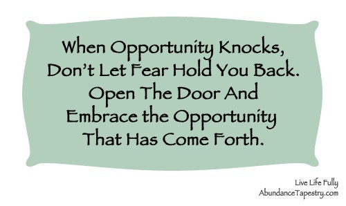 Opportunity Quotes Storemypic
