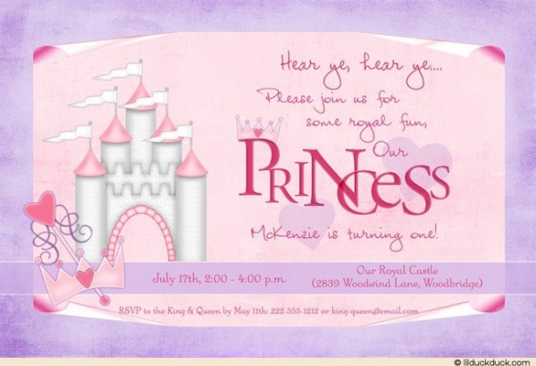 Please join us for some royal fun princess