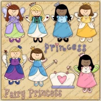Princess and fairy princess